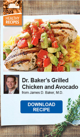 Dr. Baker's Grilled Chicken and Avocado