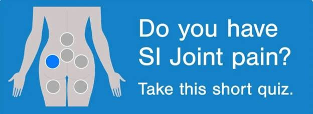 Do you have SI Joint pain? Take this short quiz.